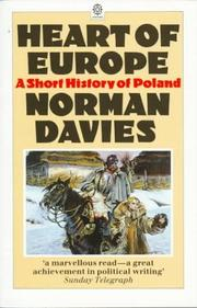 Cover of: Heart of Europe | Norman Davies