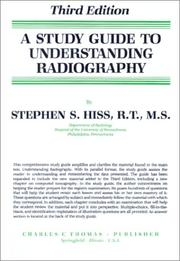 Cover of: A study guide to Understanding radiography