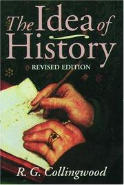 Cover of: The idea of history
