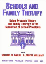 Cover of: Schools and Family Therapy |