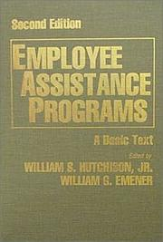 Cover of: Employee Assistance Programs |