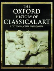 Cover of: The Oxford History of Classical Art