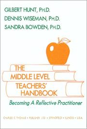 Cover of: The middle level teachers' handbook