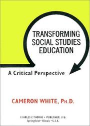 Cover of: Transforming Social Studies Education | Cameron White