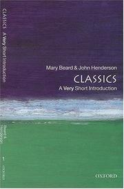 Cover of: Classics
