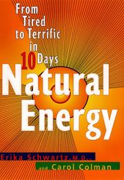 Cover of: Natural energy | Erika Schwartz