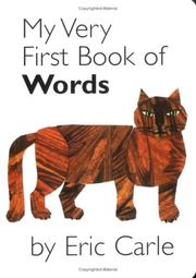 Cover of: My Very First Book of Words