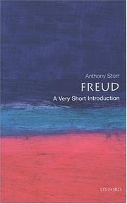 Cover of: Freud | Anthony Storr
