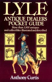 Cover of: Lyle Antique Dealers Pocket Guide (Lyle) | Anthony Curtis