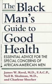 The black mans guide to good health