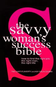 Cover of: The savvy woman's success bible