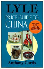 Cover of: Lyle price guide to china