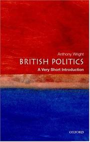 Cover of: British politics