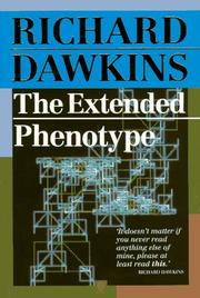 Cover of: The Extended Phenotype