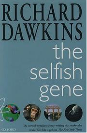 Cover of: The Selfish Gene
