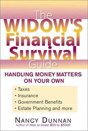 Cover of: The Widow's Financial Survival Guide