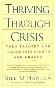 Cover of: Thriving Through Crisis | Bill O
