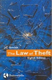 Cover of: The law of theft | Smith, J. C.