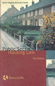 Cover of: Public sector housing law