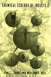 Cover of: Chemical Ecology of Insects 2 by R.T. Carde, W.J. Bell