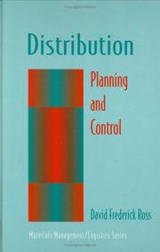 Cover of: Distribution | David Frederick Ross