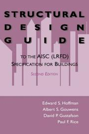 Cover of: Structural Design Guide to the AISC (LRFD) Specification for Buildings |