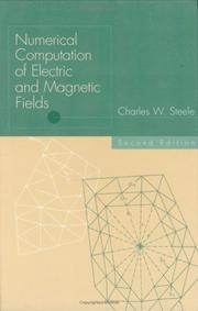 Cover of: Numerical computation of electric and magnetic fields