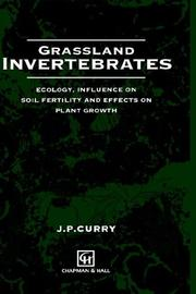 Cover of: Grassland Invertebrates