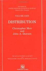 Cover of: Distribution