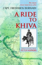 A ride to Khiva by Fred Burnaby