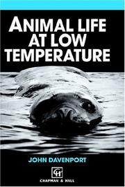 Animal life at low temperature by Davenport, J.