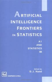 Cover of: Artificial Intelligence Frontiers in Statistics | David J. Hand