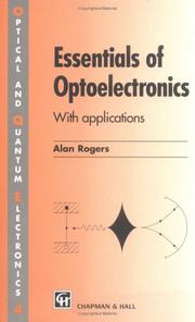 Essentials of optoelectronics by Rogers, A. J.