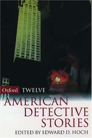 Cover of: Twelve American Detective Stories (Oxford Twelves)