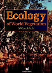 Cover of: Ecology of World Vegetation