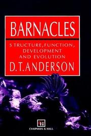 Cover of: Barnacles | D.T. Anderson