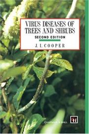 Cover of: Virus Diseases of Trees and Shrubs