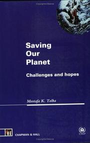 Cover of: Saving Our Planet