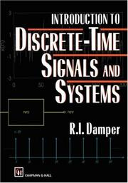 Cover of: Introduction to discrete-time signals and systems