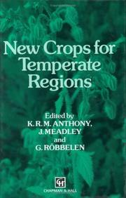 Cover of: New crops for temperate regions