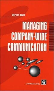Cover of: Managing company-wide communication