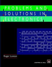 Cover of: Problems and Solutions in Electronics