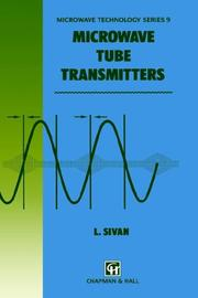 Cover of: Microwave Tube Transmitters (Microwave and RF Techniques and Applications)