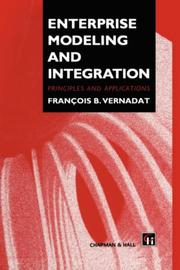 Cover of: Enterprise modeling and integration | F. Vernadat