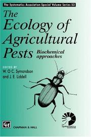 The ecology of agricultural pests