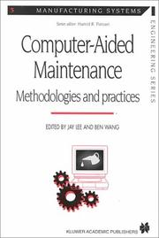 Cover of: Computer-aided Maintenance (Manufacturing Systems Engineering Series) |