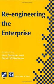 Cover of: Re-engineering the Enterprise (IFIP International Federation for Information Processing) |