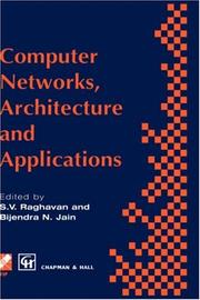Cover of: Computer Networks, Architecture and Applications (IFIP International Federation for Information Processing) |