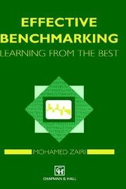 Effective Benchmarking