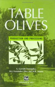Cover of: Table Olives | A. Garrido Fernandez